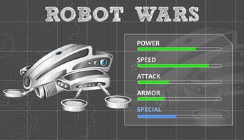 Diseño de tecnología para robot moderno.