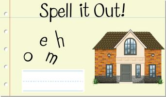 Spell it out home