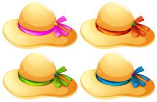 Chapéus da moda