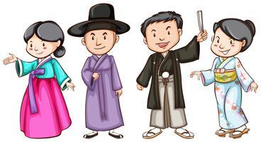 Aziatische mensen
