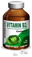 A Bottle of Vitamin B2