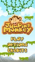 Springender Affe, der Hauptvorlage startet