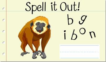 Schreib es Gibbon aus