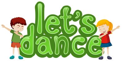 Let's dance symbol template