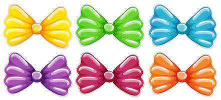 Colourful bows