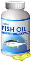 Capsule d'huile de thon