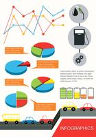 Infographics of the vehicles