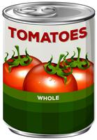 Can of whole tomatoes