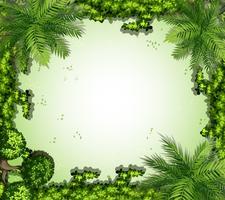 Rahmen der Natur