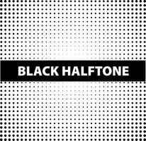 Background template with black halftone