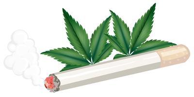 Een joint van wiet