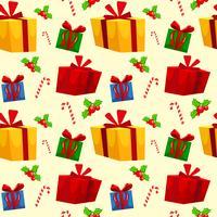 Tema de Natal sem costura papel de parede