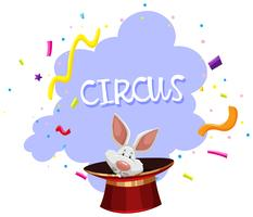 Een Rabbit Magic Trick Circus