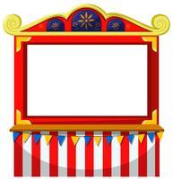 Zirkus-Thema leer Banner