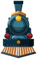 Zugdesign auf weißem Hintergrund