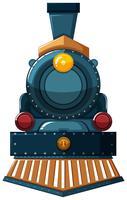 Train design on white background
