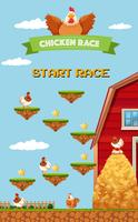 Farm Chicken Racing Game Mall