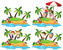 A Set of Island Element