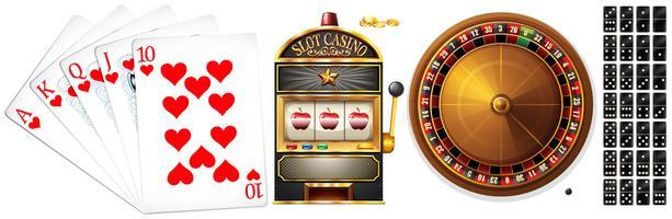 Aantal pokerkaarten en casinospellen