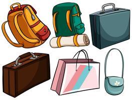 Tipo diferente de sacos