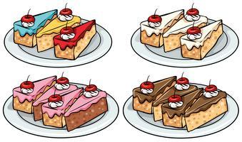 Conjunto de bolos