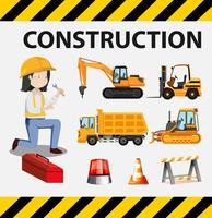 En uppsättning byggnadsingenjör