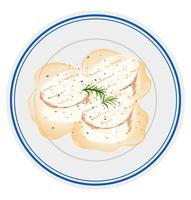 scallops on plate scene