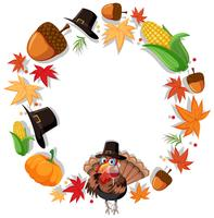 Thanks giving circle concept