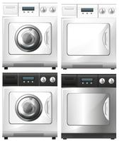 Washing machine and dryer machine