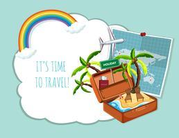 Tempo para viajar modelo