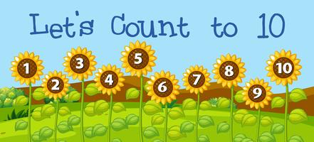 Laten we tot tien tellen