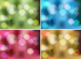 Sets van kleurrijke sjablonen