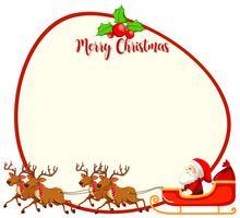 En julkortsmall