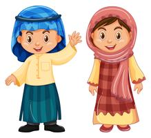 Boy and girl from Irag