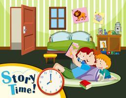 historia tid pappa och barn