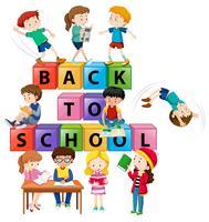 Volta ao conceito de crianças em idade escolar
