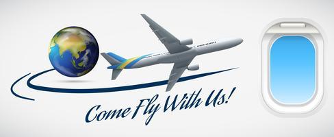 Kom och flyga med oss