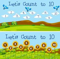 Let's count to 10 scenes