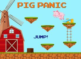 A Pig Jumpling Game Template