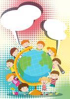 Crianças ao redor do mundo