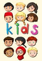 Crianças de todo o mundo