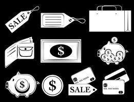 Ícones de dinheiro