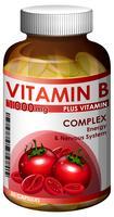 Une bouteille de vitamine b