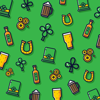 St.Patrick's day clipart Vector