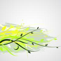 illustration florale de vecteur
