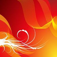 bakground vermelho abstrato vetor