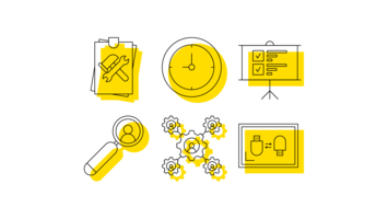 Minimalistic outline UX Icons Vector Pack