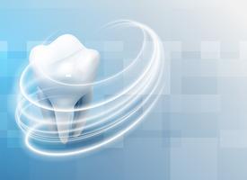 dientes de cuidado dental de antecedentes médicos