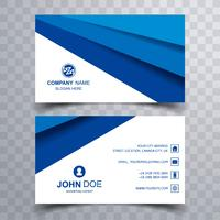 Beautiful creative business card set template vector