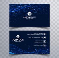 Elegant creative business card set template vector